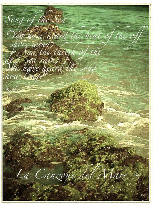 Lacanzone del mare
