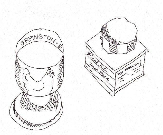 Contour drawing 2
